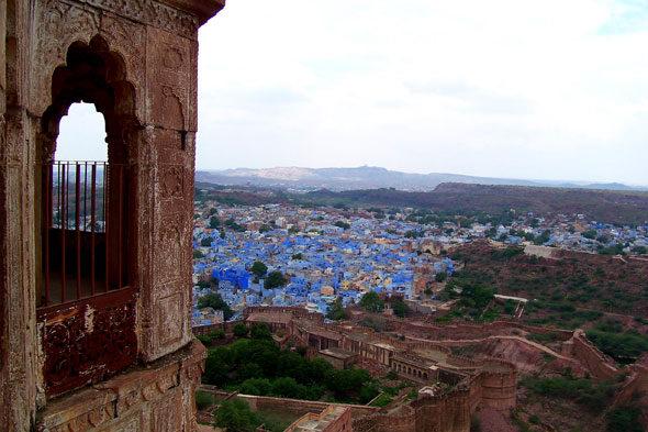 Jodhpur, Indien: das Land des Todes