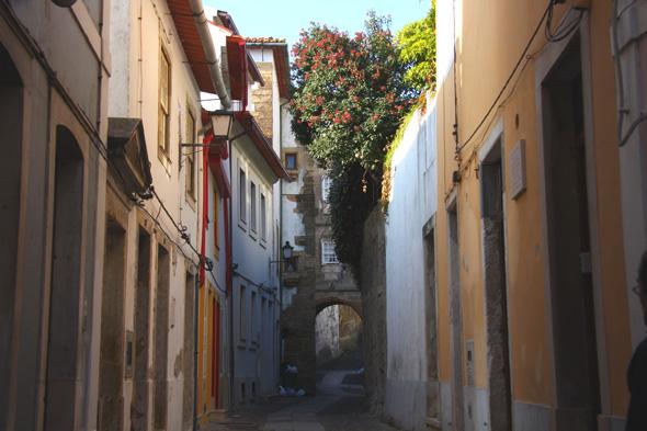 Coimbra: los muros de letras