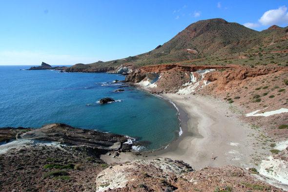 Cabo de Gata: neve, il pastore e il guardiano del faro