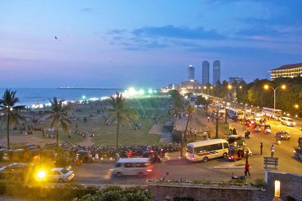 Garbanzos y bombas en el viejo Colombo