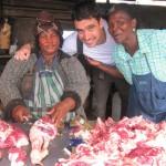 Mercado del cordero en Khayelitsha