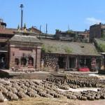 Artesanía de los alfareros de Bhaktapur