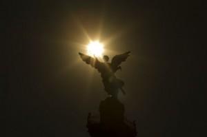 Monumento Angel de la  en Reforma DF Mexico