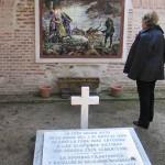 Aqui estuvo la fosa de los héroes de mayo de 1808