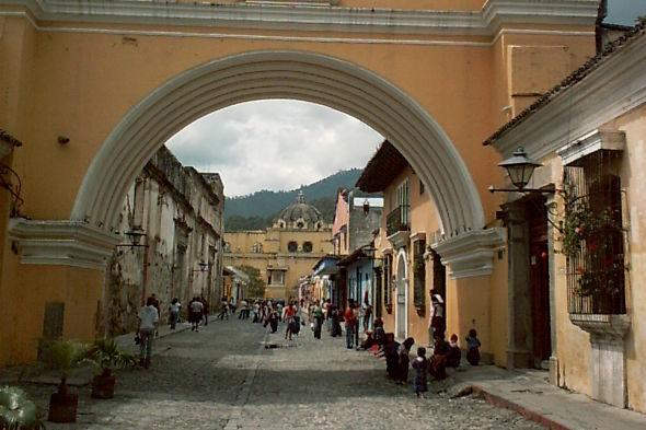 Antígua: a Pompéia da Guatemala