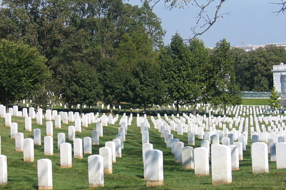 Cemiterio de Arlington: o american way of morte