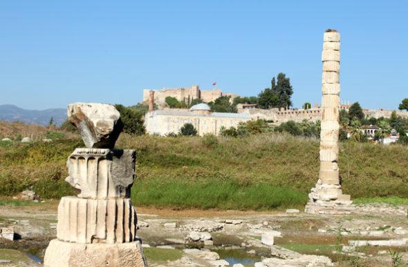 Éfeso: duelo al sol con la historia
