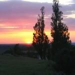 Atardecer en Segovia