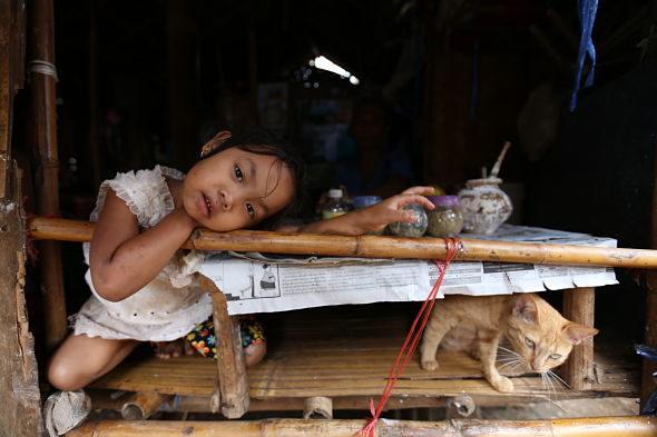 A aldea onde os nenos raptar