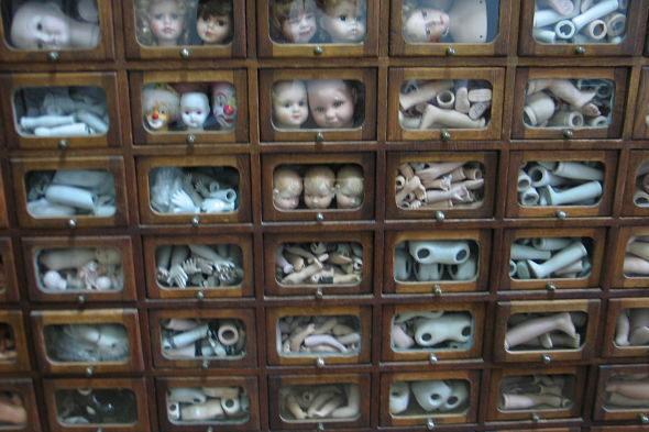 Самая старая кукла больниц в Европе