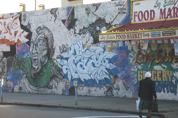 Tales from the Bronx: Apache Distrito graffiti