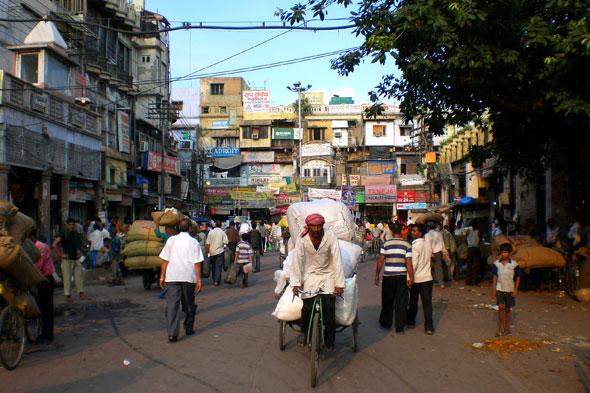 Delhi (I): los mochileros, el olor y el escote