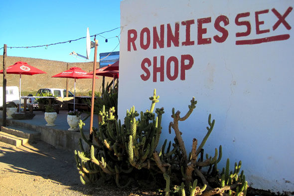 Un sex shop enmig del desert