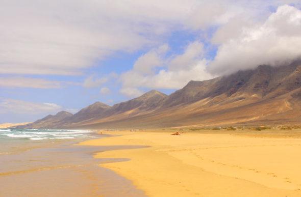 Cofete: a praia mais espetacular das ilhas Canárias