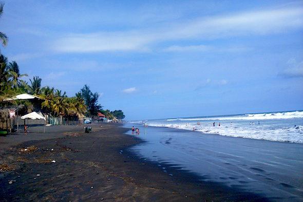 Сальвадор: Пляж Сан-Блас и вулкан Коатепек