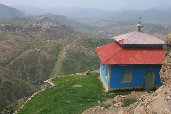 Debre Damo: das Kloster des Seils und die Schlange