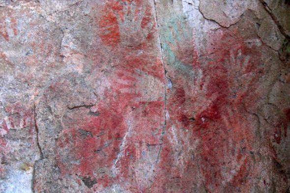 Patagonia: o misterio das covas das mans