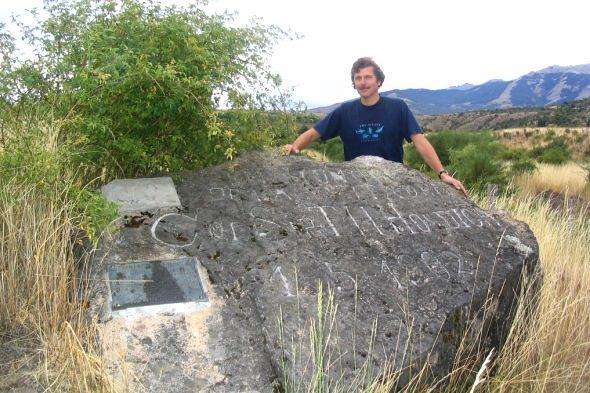 A pedra, que evitou unha guerra