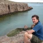 El autor en Puerto Deseado