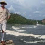 Emulo de Speke en Murchison Falls Uganda