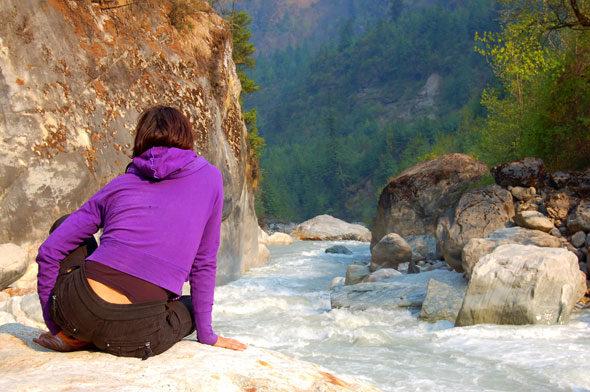 Annapurna, o reto da montaña