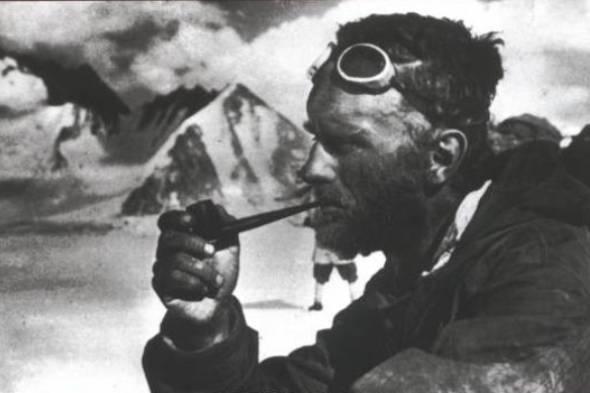 El alpinista vencido por el Everest