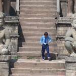 Escaleras del templo Nyatapola