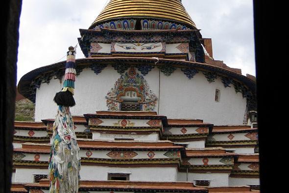 La estupa más impresionante del Tíbet
