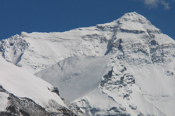 Am Fuße des Mount Everest
