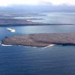 Las Galapagos desde el aire