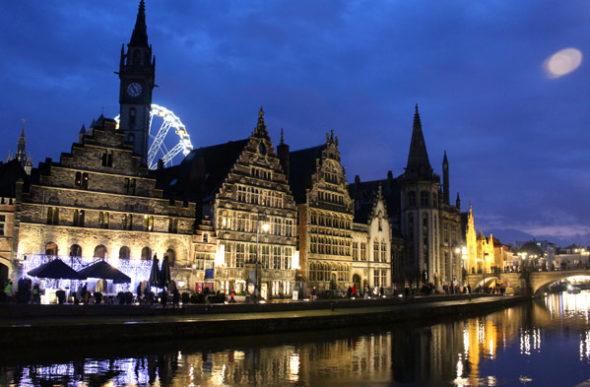 Gent: verboten vor Einbruch der Dunkelheit fliehen