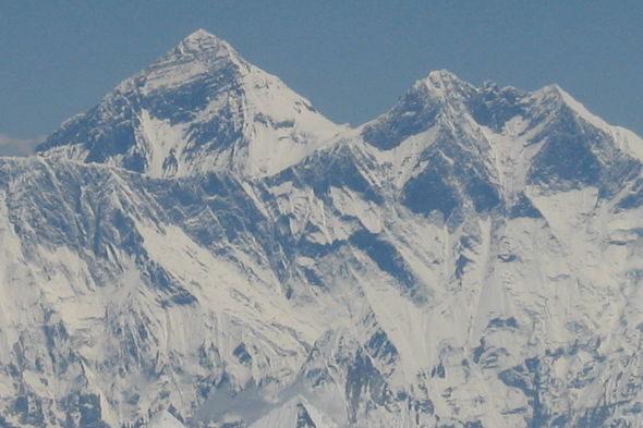 O primeiro encontro co Everest