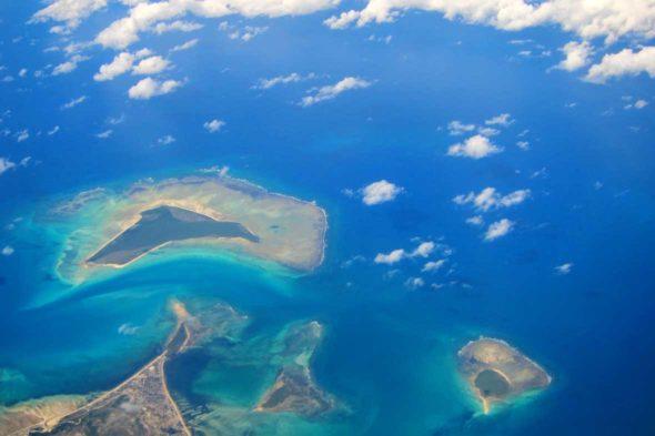 Tanzania y Mozambique, из воздуха