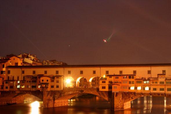 Florencia: perdidos na noite
