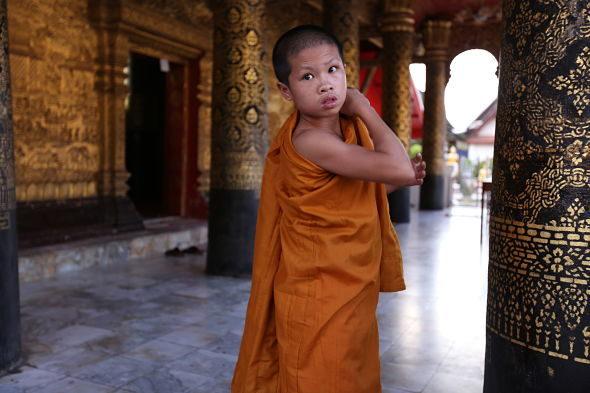 O brillo eterno Luang Prabang