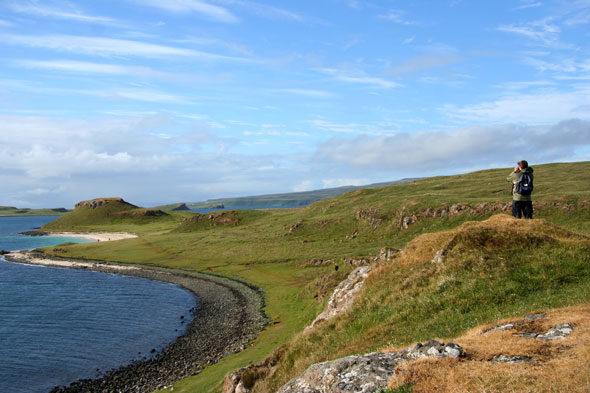 Illa de Skye: la platja del corall