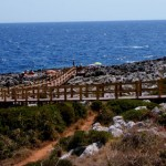 Playa en la ctra de St María de Leuca a Otranto
