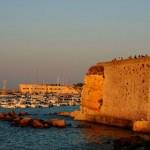Puerto de Otranto y muralla medieval
