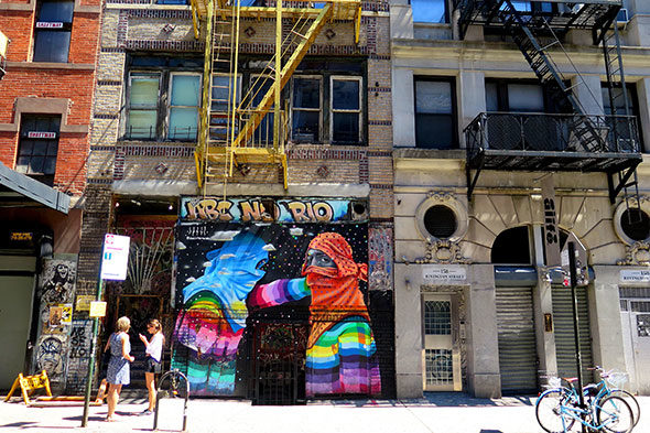 Mescolare sul Lower East Side