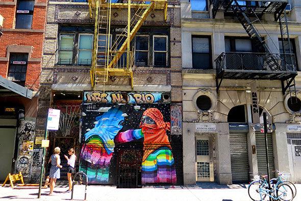 Mezcla en el Lower East Side