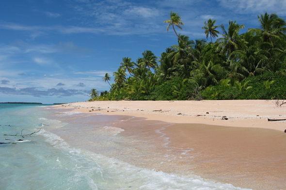 Surcando los mares de Tuvalu: el universo del lagoon Te Namo