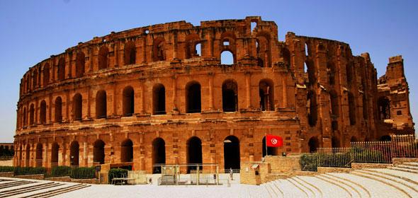 El Djem: El Coliseum romano perdido en el desierto