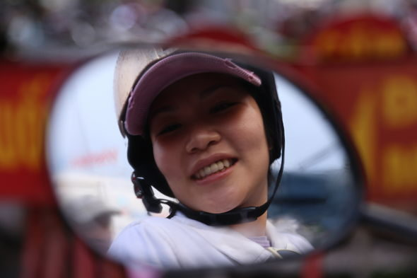 En Saigón no hay bicicletas