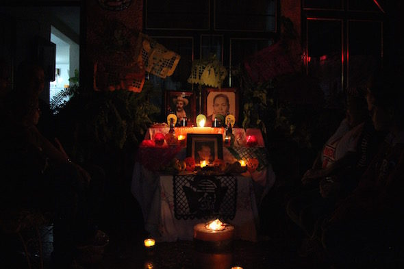 Patzcuaro: ночь мертвых