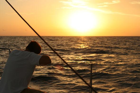 De Denia a Ibiza en barco: en busca del viento