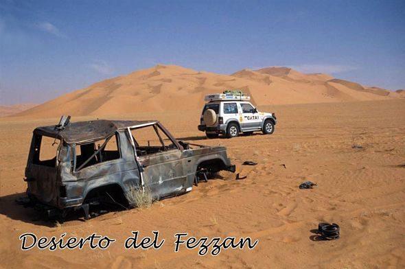 A Libia Deserto Negro