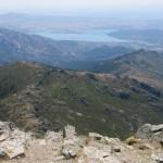Vistas desde la cima de La Maliciosa