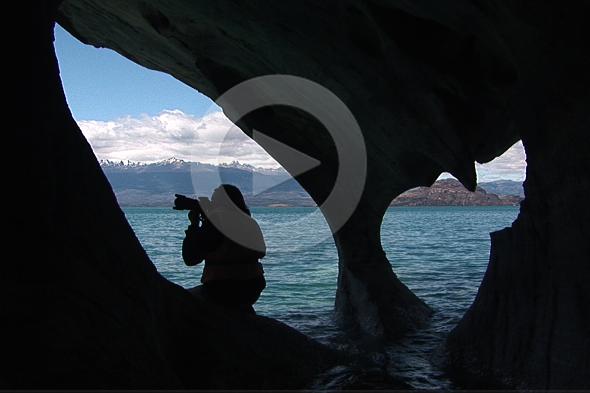 Lago Xeneral Carrera, azul entre los Andes