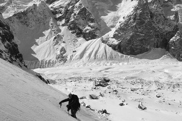 Laila Peak (II): aprender a sufrir