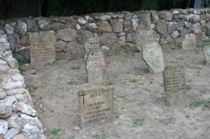 Lapidas en San Carlos